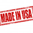 Stock Vector: Made in USA