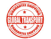 Global Transport-stamp — Vettoriale Stock