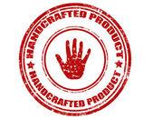 Produit artisanal-timbre — Vecteur