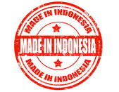 Made in Indonesia — Stock Vector