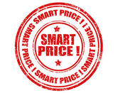 Smart Price-stamp — Vector de stock