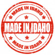 Made in Idaho — Stock Vector
