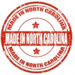 Made in North Carolina — Stock Vector