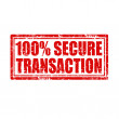 Secure Transaction — Stock Vector