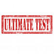 Ultimate Test-stamp — Stock Vector