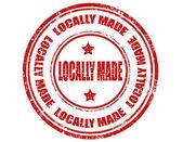 Carimbo feito localmente — Vetorial Stock