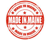 Made in Maine — Stock Vector