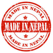 Made in Nepal — Stock Vector