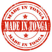Made in Tonga — Stock Vector