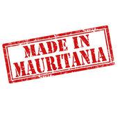 Made in Mauritania — Stock Vector