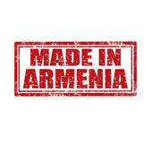Made in Armenia stamp — Stock Vector