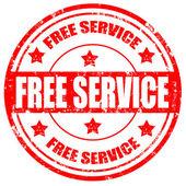 Libre service-timbre — Vecteur