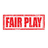 Fair-play-timbre — Vecteur