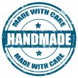 Handmade-stamp — Stockvectorbeeld