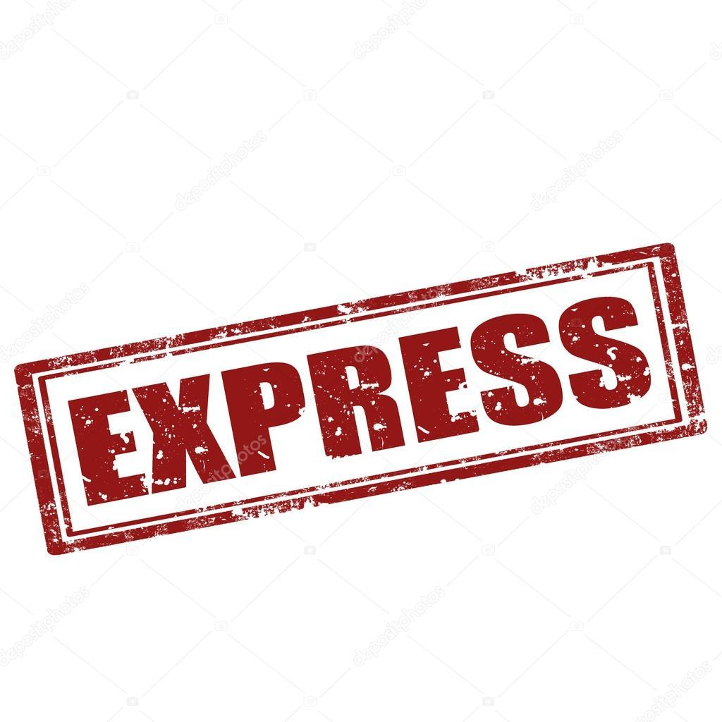 Express-stamp — Stock Vector © carmen_dorin #33178211