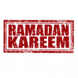 Ramadan Kareem-stamp — Stockvectorbeeld