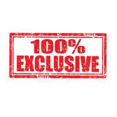 Exclusive-stamp — Stock Vector