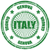 Genova-Italy — Stock Vector