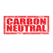 Carbon Neutral-stamp — Stock Vector