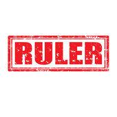 Ruler-stamp — Vecteur