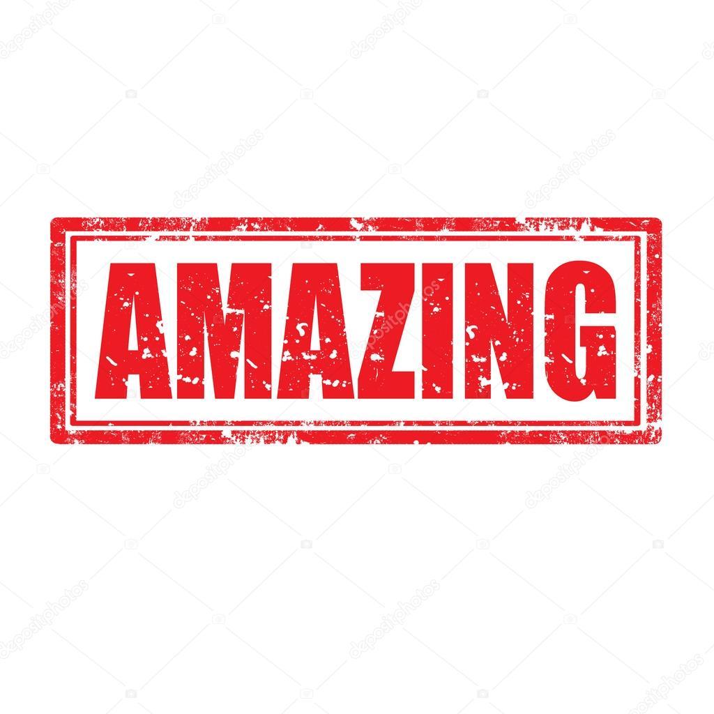 The Word Amazing: Stock Vector © Carmen_dorin #33722027