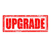 Upgrade-stamp — Stock Vector
