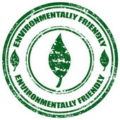 Environmentally Friendly-stamp — 图库矢量图片