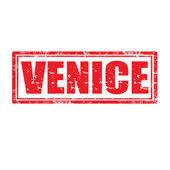 Venice-stamp — Stock Vector