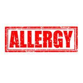 Allergy-stamp — Vetorial Stock