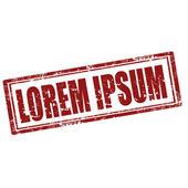 Lorem Ipsum-stamp — Stock Vector