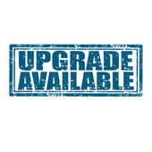 Upgrade Available-stamp — Stock Vector