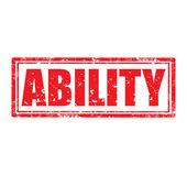 Ability-stamp — Vetorial Stock