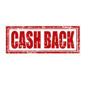 Cash Back-stamp — Stock Vector