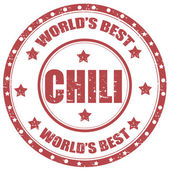 Chili-stamp — Vetorial Stock