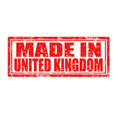 Made in United Kingdom-stamp — ストックベクタ