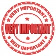 Very Important — Stock Vector