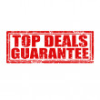 Stock Vector: Top Deals Guarantee-stamp
