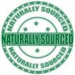 Naturally Sourced — Stock Vector