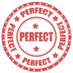 Постер, плакат: Perfect stamp