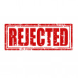 Rejected-stamp — Stock Vector