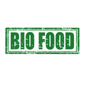 Bio Food-stamp — Stock Vector