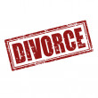 Divorce-stamp — Stockvectorbeeld