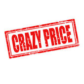 Crazy Price-stamp — Stock Vector
