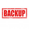 Backup-stamp — Stock Vector #36498511