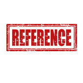 Reference-stamp — Stock Vector