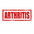 Stock Vector: Arthritis-stamp