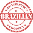 Authentic Brazilian — Stock Vector