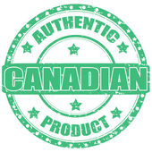 Canadian-stamp — Stock Vector