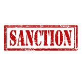 Sanction-stamp — Vector de stock