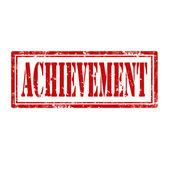 Achievement-stamp — Stock Vector